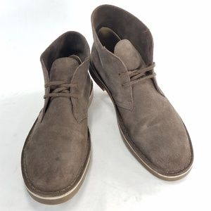 Clarks Chukka Desert Leather Suede Brown Boots